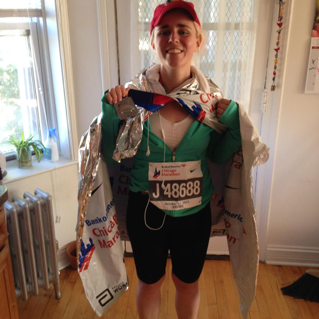 post-marathon chicago 2015