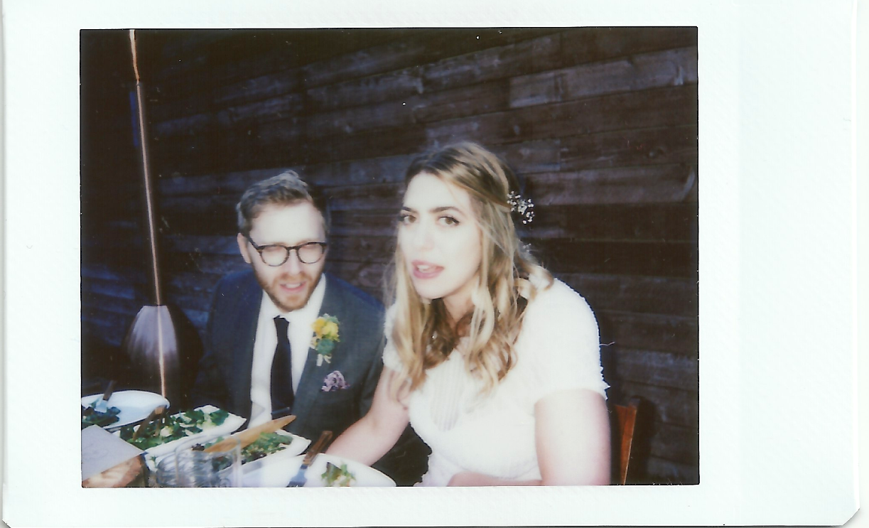 instamax photo of Tommy + Elise at their wedding