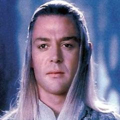 image of Celeborn from one of the Hobbit or Lord of the Rings movies we guess | Tacky Harper's Cryptic Clues