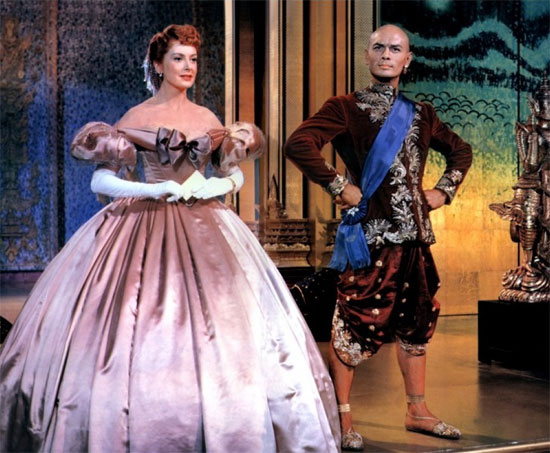 still from The King and I (1956) featuring Deborah Kerr and Yul Brynner | Tacky Harper's Cryptic Clues