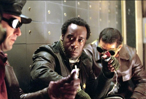 still of Basher as played by Don Cheadle | Tacky Harper's Cryptic Clues