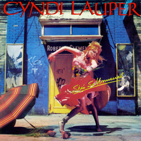 cover of Cyndi Lauper's She's So Unusual | Tacky Harper's Cryptic Clues