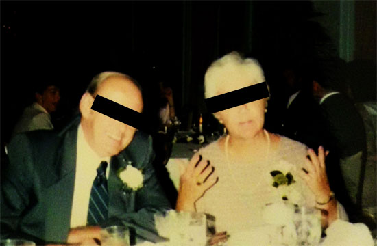 photo of my grandma and grandpa | Tacky Harper's Cryptic Clues